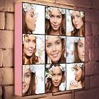 Custom Photo Collage on 10x10 Light Box