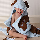 Puppy Love Personalized Towel & Mitt