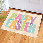 Personalized Easter Welcome Doormat