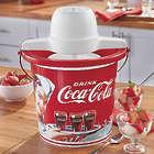 Coca-Cola 4-Qt. Ice Cream Maker