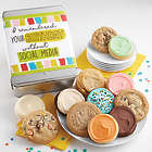 I Remembered Your Birthday Without Social Media Cookie Gift Tin