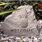 Welcome Garden Accent Stone