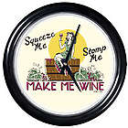 Make Me Wine Round Clock
