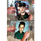 Magically Changing Military Photo 8x10
