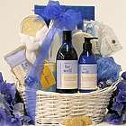 Be Well Lavender Vanilla Bath & Body Spa Gift Basket
