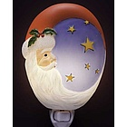 Santa Moon Night Light