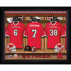 Personalized Rutgers Locker Room Print