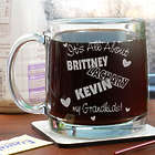 It's All About Personalized Glass Mug