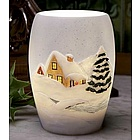 Snow Cottage Night Lamp