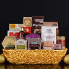 Golden Holidays Gift Basket