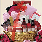 Be Well Pomegranate Spa Haven Gift Basket