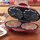 Double Heart Waffle Maker