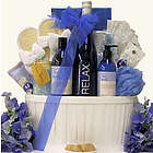 Relax Riesling Valentine's Day Wine & Spa Gift Basket
