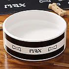 Doggie Diner Small Personalized Ceramic Pet Bowl