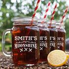 Personalized Moonshine Mason Jars