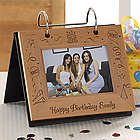 Happy Birthday Personalized Flip Photo Album