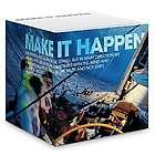 Make it Happen Self-Stick Note Cube