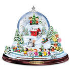 Peanuts Christmas Snowglobe with Lights, Music and Motion