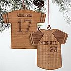 Sports Jersey Personalized Ornament