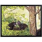 Large Personalized Forest Love Canvas Print