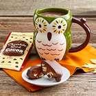 Owl Mug and Cocoa
