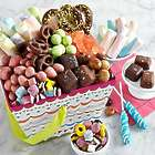 Birthday Treats in a Gift Basket with No Custom Ribbon