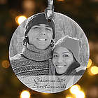 Photo Sentiments Personalized Ornament