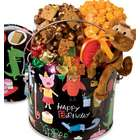 Birthday Animal Fun Pail of Popcorn and Treats