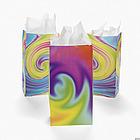 Tie Dye Paper Bags