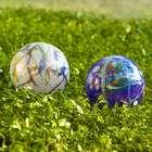 Hand-Blown Polish Glass Garden Ball