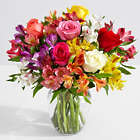 Smiles & Sunshine Bouquet with Ginger Vase