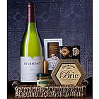 White Wine and Snaps Gift Basket