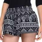 Women's Spiritual Printed Shorts