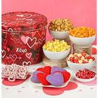 Graffiti Hearts Snacks Gift Tin