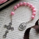 Baby's Pink Pocket Rosary