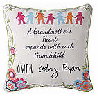 A Grandmother's Heart Pillow