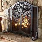 Small Tree of Life Fireplace Screen