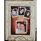 Custom Photo Tile Mural in 12x18 Driftwood Design Frame