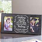 Personalized Then and Now Graduate Frame