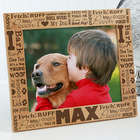 Personalized Good Dog Picture Frame