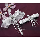 Classic Double Heart 2-Piece Bridal Garter