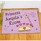 Personalized Princess Doormat
