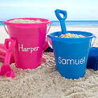 Personalized Plastic Pail with Shovel