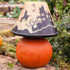 Lighted Halloween Lampshade Lamp