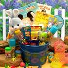 Little Blue Bunny Easter Fun Gift Pail