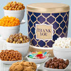 Shining Sentiments 3.5 Gallon Grand Snacks & Popcorn Gift Tin