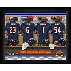 Personalized Chicago Bears NFL Locker Room Sign