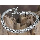 Men's Sterling Silver Surf Bracelet
