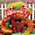 Pink Bunnies Easter Fun Pail of Toys