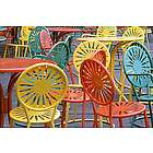 University of Wisconsin Terrace Chairs Poster